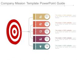 Company Mission Template Powerpoint Guide