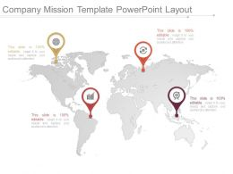 Company Mission Template Powerpoint Layout