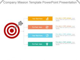 Company Mission Template Powerpoint Presentation