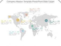 Company Mission Template Powerpoint Slide Clipart