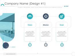 Company Name Design Vision Company Ethics Ppt Ideas