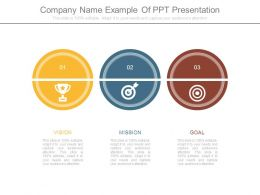 Company Name Example Of Ppt Presentation