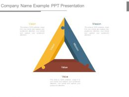 Company Name Example Ppt Presentation