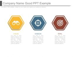 Company Name Good Ppt Example