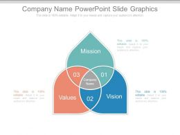 Company Name Powerpoint Slide Graphics