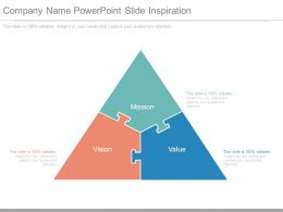 Company Name Powerpoint Slide Inspiration