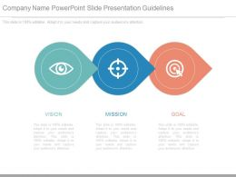 Company Name Powerpoint Slide Presentation Guidelines