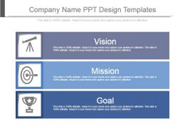 Company Name Ppt Design Templates