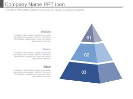 Company Name Ppt Icon