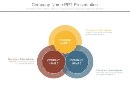 Company Name Ppt Presentation