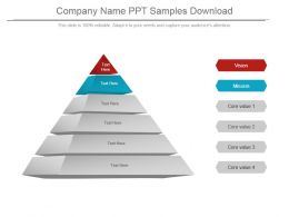Company Name Ppt Samples Download