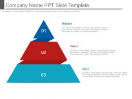 Company Name Ppt Slide Template