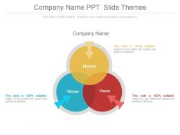 Company Name Ppt Slide Themes