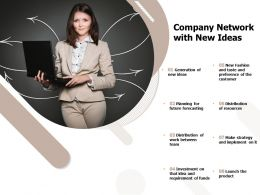 Company Network With New Ideas