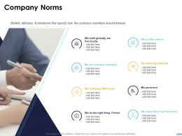 Company Norms C1475 Ppt Powerpoint Presentation Infographics Display