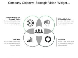 Company Objective Strategic Vision Widget Marketing Portal Representation