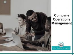 Company Operations Management Powerpoint Presentation Slides