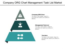Company Org Chart Management Task List Market Follower Cpb