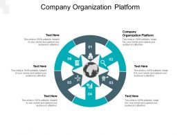 Company Organization Platform Ppt Powerpoint Presentation Slides Structure Cpb
