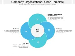 Company Organizational Chart Template Ppt Powerpoint Presentation File Grid Cpb