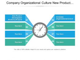 Company Organizational Culture New Product Development Product Life Cycle Cpb