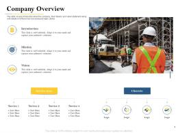 Company Overview Deal Evaluation Ppt Powerpoint Presentation File Example