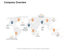 Company Overview Location Ppt Powerpoint Presentation Model Gallery