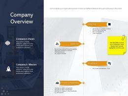 Company Overview Main Accreditation Ppt Powerpoint Presentation Visual Aids Slides