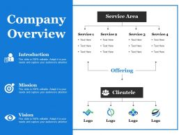 Company Overview Ppt Summary Design Templates