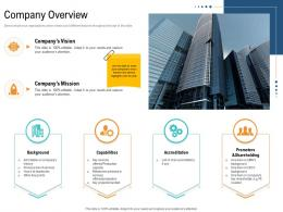 Company Overview Unique Selling Proposition Of Product Ppt Topics