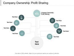Company Ownership Profit Sharing Ppt Powerpoint Presentation Infographic Template Objects Cpb