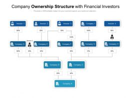 Company Ownership Structure With Financial Investors
