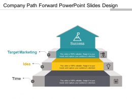 Company Path Forward Powerpoint Slides Design