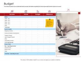 Company Playbook Budget Ppt Powerpoint Presentation Styles Slide Portrait