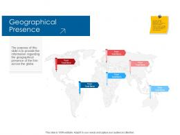 Company Playbook Geographical Presence Ppt Powerpoint Presentation Icon Structure