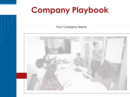 Company Playbook Powerpoint Presentation Slides
