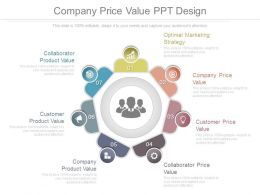 Company Price Value Ppt Design