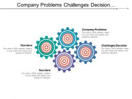 Company Problems Challenges Decision International Edition Profit Relationships