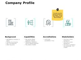 Company Profile Capabilities Ppt Powerpoint Presentation File Gallery