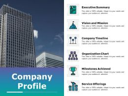 Company Profile Powerpoint Slide Backgrounds