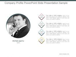 Company Profile Powerpoint Slide Presentation Sample