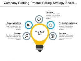 Company Profiling Product Pricing Strategy Social Media Quality Assurance Cpb