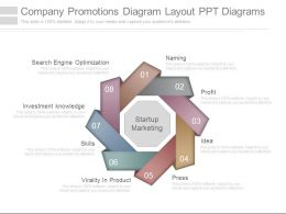 Company Promotions Diagram Layout Ppt Diagrams