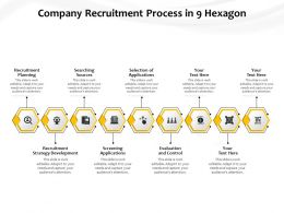 Company Recruitment Process In 9 Hexagon