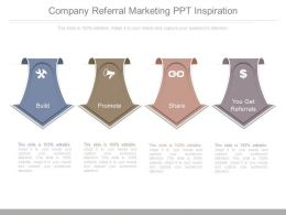 Company Referral Marketing Ppt Inspiration