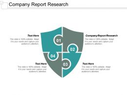 Company Report Research Ppt Powerpoint Presentation Infographics Design Inspiration Cpb
