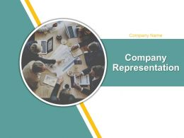 Company Representation Powerpoint Presentation Slides