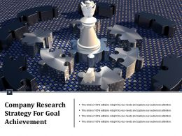 Company Research Strategy For Goal Achievement