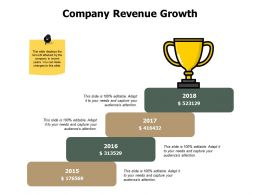 Company Revenue Growth Process J202 Ppt Powerpoint Presentation File