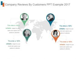 Company Reviews By Customers Ppt Example 2017